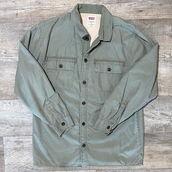 Levi's Sherpa Fleece Lined Shirt Jacket